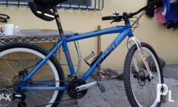 Specs: alloy frame. New Repainted. Tempered Giant