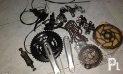 package n po. crank.menical desk brake, shimano fd rd,