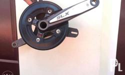 SLX Crankset with Bashguard & Chainguide adaptor & 38t
