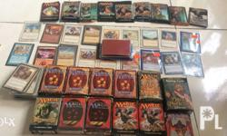 MTG Cards For Sale authentic with card holders and text