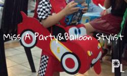 Fb page: Miss A Party and Balloons Stylist Price starts