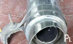 muffler tip with bracket see pics for details as is