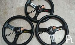 Mugen TRD and Ralliart Steering Wheel 13 inches