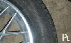 4 spokes mugs with new tires