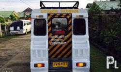 2nd hand multicab updated registration ,with franchise