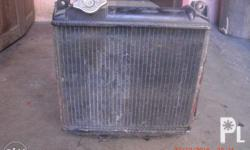 1. Radiator with cooling for scrum multicab original