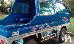 Multicab suzuki pick w/car stereo newly paint,and