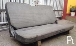 Original Rear Seat for Multicab Van Can be installed to