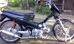 Deskripsiyon wave 125 2004 model dbs pipe stock engine