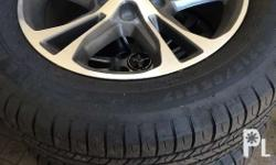 1 set (4 alloy wheels) stock from Ford Mustang V6