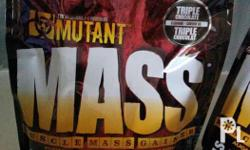 Mutant mass 15lbs Sealed. 09052071831 Tanauan Sto tomas