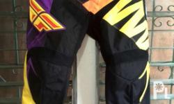 Fly racing pants Brandnew Size: 34 Price: 3.5 Jersey