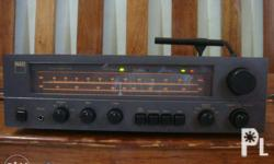 Here is a Beautiful example of a Classic Receiver