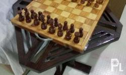 Narra chess board. You'll enjoy the game more...
