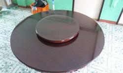 Narra 6 seater Dining Table Newly shiny varnish With