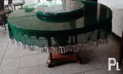 Good condition Furniture well taken care off With glass