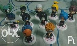 Akatsuki Action Figures Set of 11 Displayed only in a