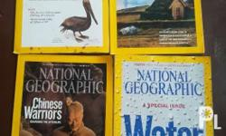 National Geographic Magazine Back Issues 2006, 2008,