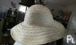 Native buri hats; Please inquire for details.
