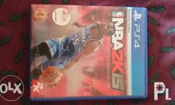 -nba2k15 ps4 at 1000php -please see photos attached