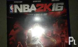 for sale only my NBA2k16 unused code AD COVER walang