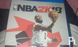 NBA 2K18 Only at 2300 pesos. Negotiable no scratches.