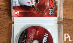 Selling an already used NBA 2K14 for PS3 Scratchless