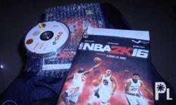 selling my game collection Nba 2k16 in DVD 10 disk also