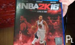 NBA 2k16, Barely used, No scratches on CD Text please,