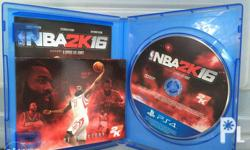 Very Good Condition NBA 2K16 - PHP 400 Each Meetup:
