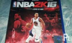 for sale nba 2k16 for ps4 good condition no scratch