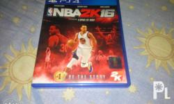 For sale NBA 2K16 PS4 R3 (S. Curry Athlete Cover)