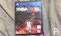 Nba 2k16 for playstation 4 with poster Meet up in
