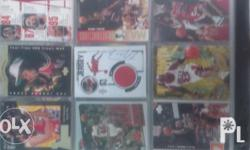 NBA CARDS 90s(includes michael jordan) good as packed