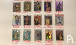 All Mint kept since 1996 Prices already printed on the