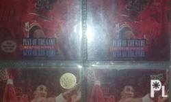 NBA Cards Scottie Pippen Collection 1 4x4 album with: