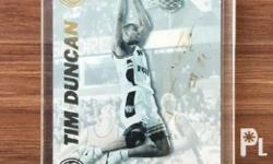 NBA CARDS Tim Duncan Autograph and RC 1. Presspass