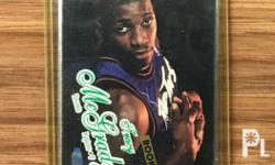 Fleer Ultra Rookie card of Tim Mc Grady mint in hard