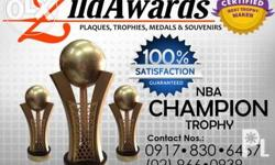 NBA Champion Basketball Trophy Contact us for quotation