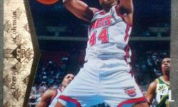 1994-1997 NBA cards that has been collected and kept