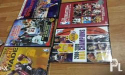 bnew sealed rare titles..sought after by nba collectors