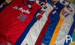 Authentic Adidas NBA fan jersey size XL. P800 each.