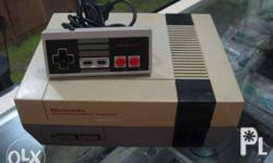 Nintendo Entertainment System Set 100% Authentic and