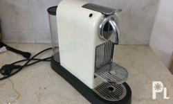 Nespresso pod coffee maker. Very good condition