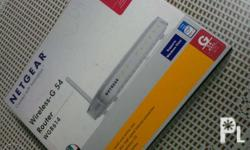 Netgear wireless-g 54 WGR614 V9 This is my extra router