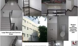 Brand New Building Studios with individual toilette and