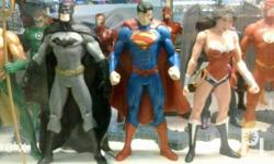 New DC52 Justice League 7-inch action figures (KO