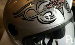 This is a new harley davidson LARGE HELMET FOR WOMEN'S