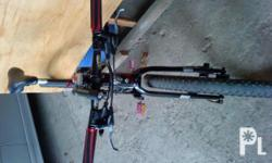 new mountain bike, pinaltan na ng hydraulic brake