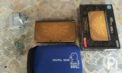 For Sale New nintendo 3ds XL hyrule edition gold Box
